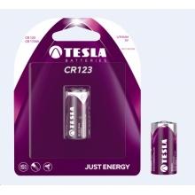 1099137107 Tesla - CR 123 Lithium baterie 3V, (CR 17345), BLISTER 1 ks