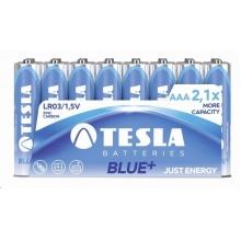 1099137116 Tesla - AAA BLUE+ Zinc Carbon baterie, R03, FOIL/24 ks