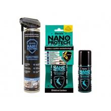Sprej antikorozní NANOPROTECH AUTO MOTO ELECTRIC 150 ml pro motoristy