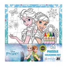 puzzle k vymalování FROZEN - Ledové království (od 3 let)