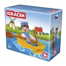 EFKO Igráček Námořník s lodičkou