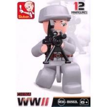 Stavebnice SLUBAN Figurka Čínský voják