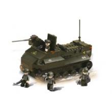 Stavebnice SLUBAN Obojživelný tank