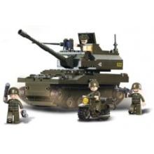 Stavebnice SLUBAN Tank Leopard