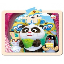Bino Puzzle Krtek a Panda oslava