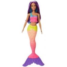 MATTEL Barbie Mořská panna - duhová