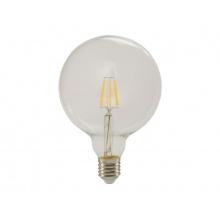 Žárovka Filament LED E27 6W GLOBE teplá bílá RETLUX RFL 223