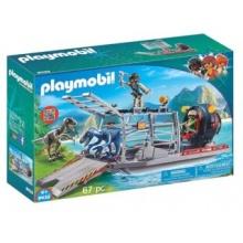 PLAYMOBIL Loď s klecí na dinosaury 9433