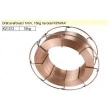 Drát svařovací 1,2mm, 15kg na ocel KOWAX