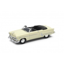 Welly - Ford Crestline Sunliner (1953) cabrio model 1:34 červený