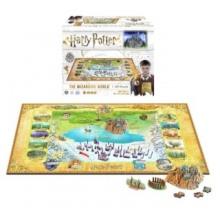4D Cityscape 4D puzzle Harry Potter: Kouzelnický svět