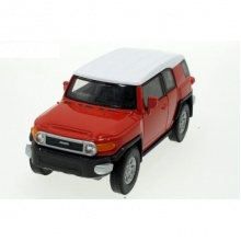 Welly - Toyota FJ Cruiser model 1:34 červená