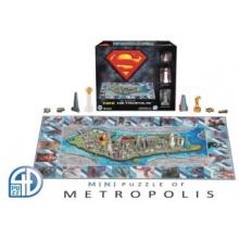 4D Cityscape 4D puzzle Superman: Mini Metropolis