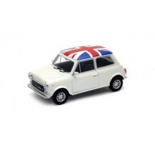Welly - Mini Cooper (Velká Británie) model 1:34 bílý