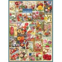 EUROGRAPHICS Puzzle Květinová koláž 1000 dílků