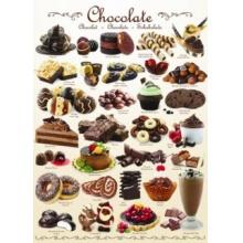 EUROGRAPHICS Puzzle Čokoláda 1000 dílků
