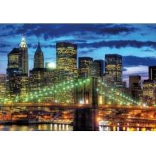 RAVENSBURGER Puzzle Noční New York 1500 dílků