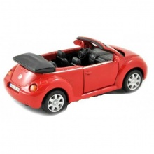 Welly - Volkswagen New Beetle Convertible1:34 červený