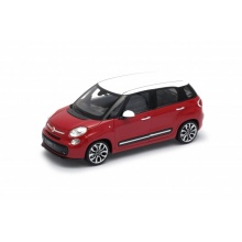 Welly Fiat 500L model 1:24 červený