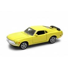 Welly Ford Mustang Boss 302 (1970) model 1:34 žlutý