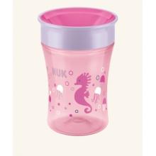 NUK Magic Cup s pitným okrajem 230ml růžová