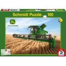 SCHMIDT Puzzle Kombajn John Deere S690 100 dílků