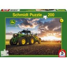 SCHMIDT Puzzle Traktor John Deere 6150R 200 dílků