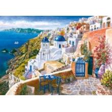 SCHMIDT Puzzle Pohled ze Santorini 1000 dílků