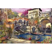 EDUCA Puzzle Námluvy v Benátkách 3000 dílků