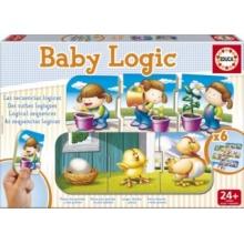 EDUCA Baby puzzle Logické posloupnosti