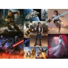RAVENSBURGER Puzzle Star Wars Epizoda 8 XXL 300 dílků