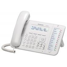 KX-NT553NE Panasonic - IP systémový tel., 3 řádkový displej, 24 program. tl., bílý, pro NS1000/NS500