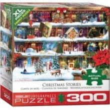 EUROGRAPHICS Puzzle Vánoční příběhy XL 300 dílků