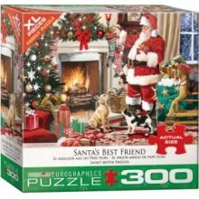 EUROGRAPHICS Puzzle Santův nejlepší přítel XL 300 dílků
