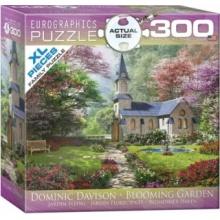 EUROGRAPHICS Puzzle Kvetoucí zahrada XL 300 dílků