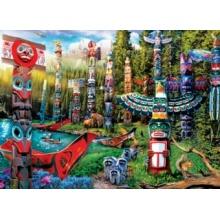 EUROGRAPHICS Puzzle Totemové snění XL 500 dílků