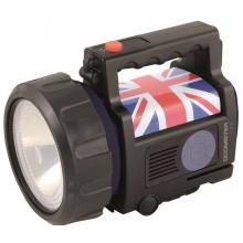 Velamp Nabíjecí 5W LED reflektor IR684-5W