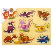 PLAYME Vkládačka Dinosauří kamarádi
