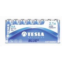 1099137121 Tesla - AA BLUE+  Zinc carbon baterie, R06, FOIL /24 ks