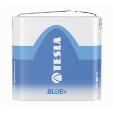 1099137097 Tesla - 4,5V BLUE+  Zinc carbon , 3R12, FOIL/1ks