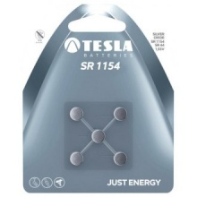 1099137150 Tesla - SR 1154 Silver baterie, SR44, BLISTER/5ks