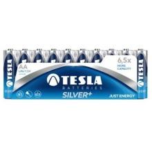 1099137102 Tesla - AA SILVER+  Alkaline baterie, LR06, FOIL/10ks