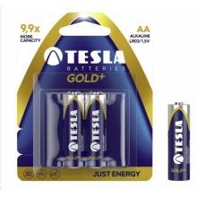 1099137123 Tesla - GOLD Alkaline baterie AA (LR06, tužková, blister) 2 ks
