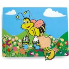 Vkládací puzzle Včelka s medem