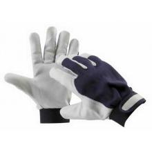 PELICAN BLUE - pracovní rukavice kozinka kombinované velikost 10