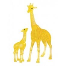 HCM KINZEL 3D Crystal puzzle Žirafa s mládětem 38 dílků