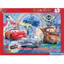 CLEMENTONI Puzzle Auta 2: Finn McMissile 15 dílků