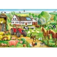 SCHMIDT Puzzle Na farmě 100 dílků