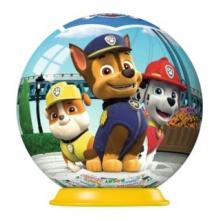 RAVENSBURGER Puzzleball Tlapková patrola 01 - 54 dílků