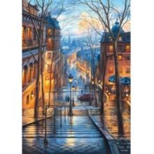 SCHMIDT Puzzle Jarní ráno v Montmartre 1000 dílků
